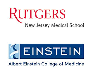 Rutgers Medical School and Albert Einstein College of Medicine Logos