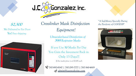 Crosslinker Mask Disinfection Equipment
