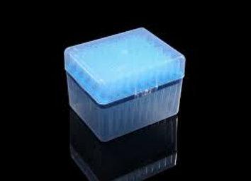 Nest 1000ul Universal Pipette Tips, Blue,  Racked, Sterile