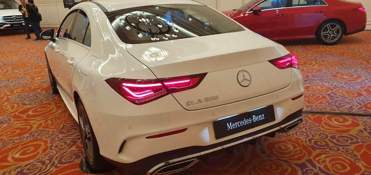Exterior belakang Mercedes Benz All New CLA 200 AMG Line
