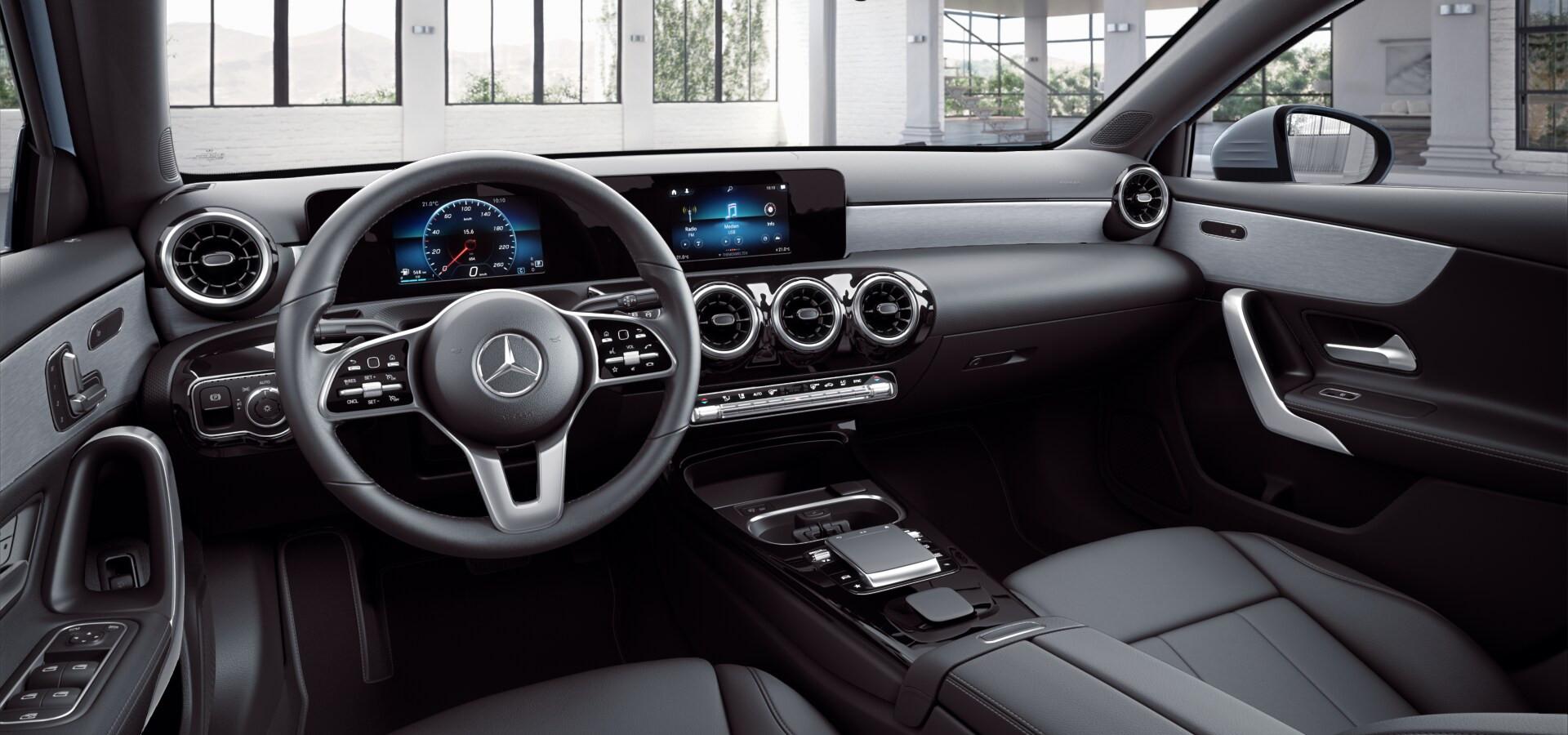 Mercedes-Benz-Jakarta-A200-Sedan-Interio