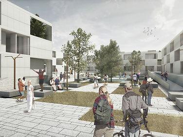 plataforma arquitectura - juan verdaguer- solucion urbana - NoName Architecture