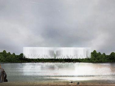 Hyde Park Music pavilion winners  - NoName Architecture