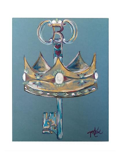 Key Crowned in Royalty