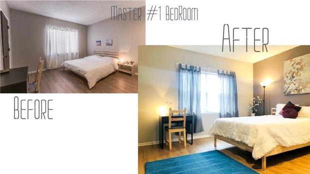 Creative Side Master Bedroom
