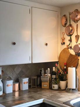 Cute Copper Kitchen