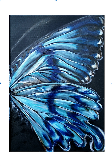 New Wave Butterfly Reprint