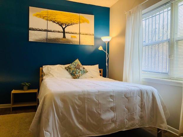 Creative Side Blue Room