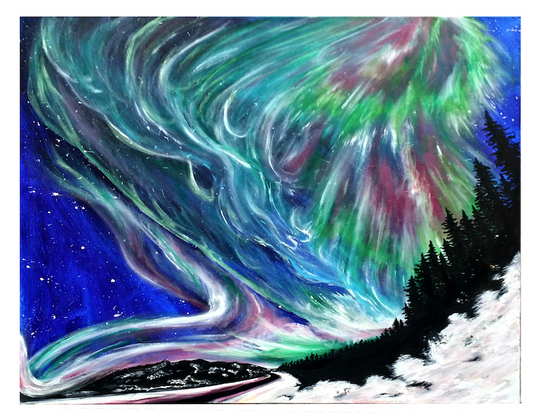 Road to Light Aurora