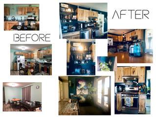 Opulent Kitchen & Dinning Before & After