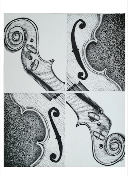 View of the Violin
