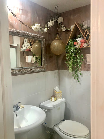 After Small Townhouse Bathroom