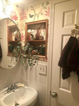 After Small Half Bath