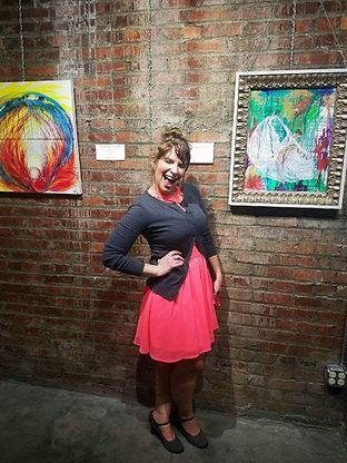Megan's Art Show First Fridays