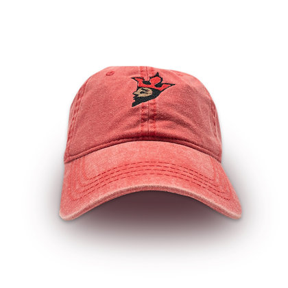 "BLACK MUSA ""RED ROYALTY"" DAD HAT"