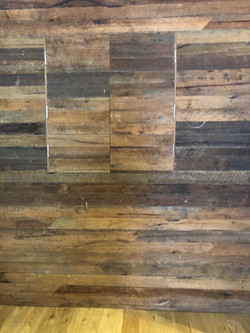 recycled rough sawn messmate