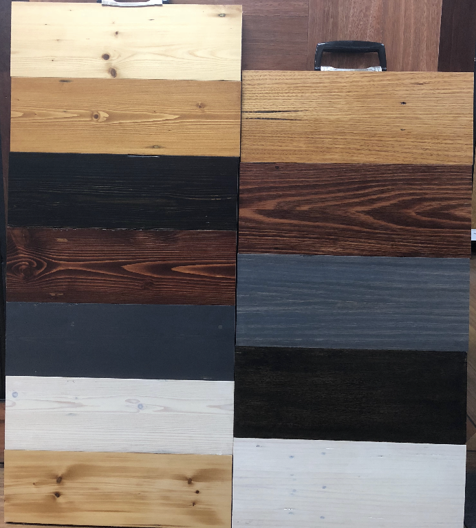 recycled Baltic and hardwood