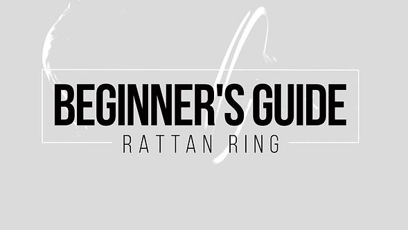 Beginner's Guide to Rattan Ring | Tutorial