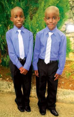 Brandon and Brayden Jones