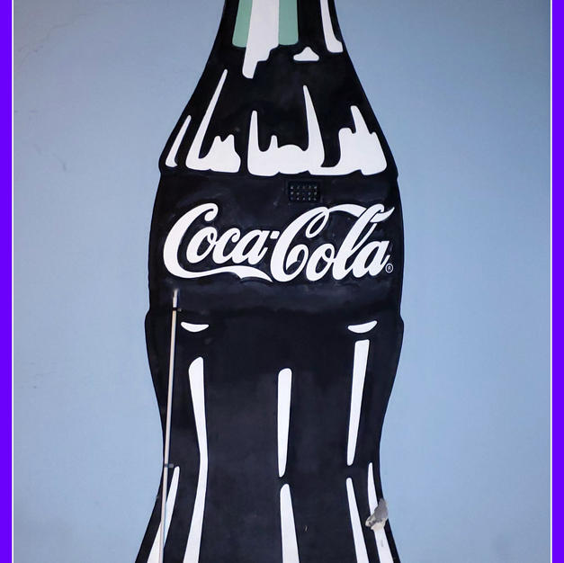 COKE BOTTLE POSTER