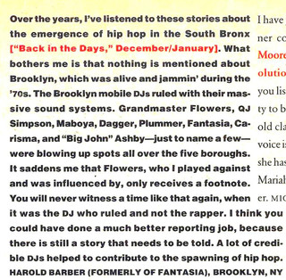 My Response To Vibe Article On Hip Hop Origins