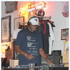 DJ CHIPS AT THE RHUBARB