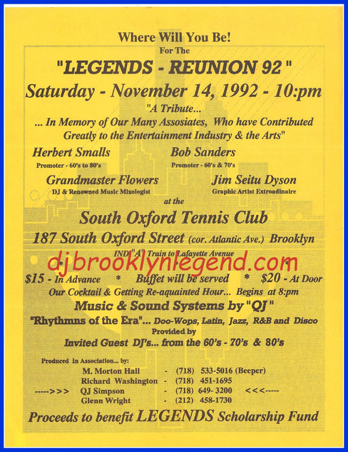 Brooklyn Legends Reunion 92