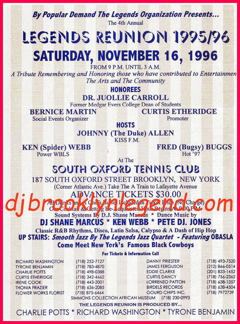Brooklyn Legend Reunion 1996