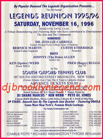 Brooklyn Legend Reunion 1996