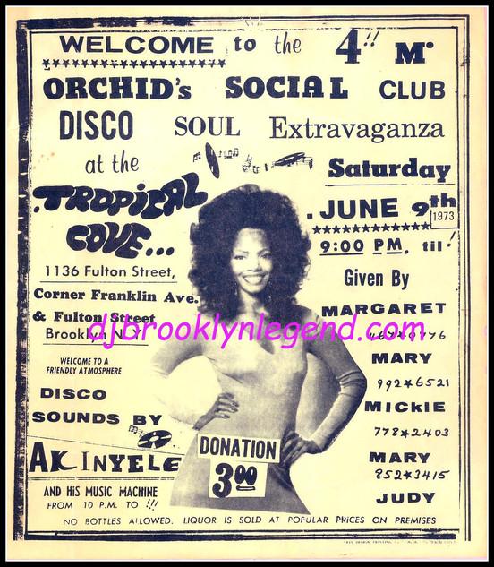 TROPICAL COVE DJ AKINYELE 1973