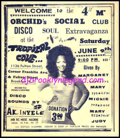 TROPICAL COVE DJ AKINYELE 1973