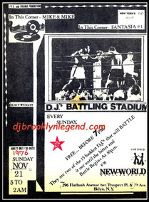 New World 1976 DJ Battle