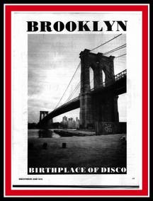 Brooklyn Birth Place Of Disco