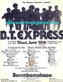B.T. Express Flier Boombamakaoo 1976