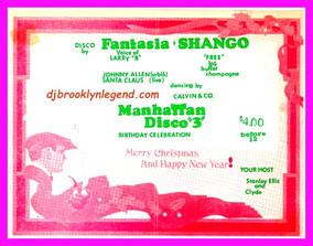 FANTASIA & SHANGO PROMOTER 1977