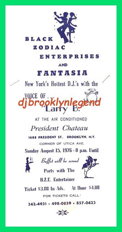 President Chateau 1976 Voice Of Larry B