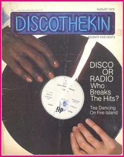 Discothekin Magazine- Disco Or Radio