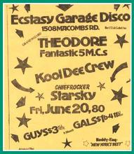 Kool Dee Crew Flier 1980