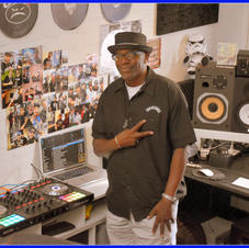 DJ CHIPS AT GALAXTIC STUDIOS