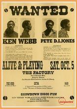 Ken Spider Webb VS Pete DJ Jones