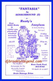 Rusty's Asylum at Farrugut Center 1979