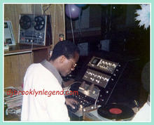 Shango At The Promoter DJ Booth