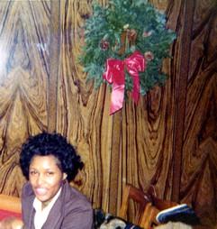 Frances By XMas Wreath