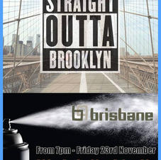STRAIGHT OUT OF BROOKLYN FLIER