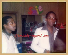 Jamal and DJ Shango Promoter Manor