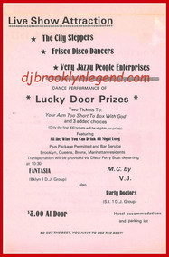 Pink Staten Island Flier Cover 1977