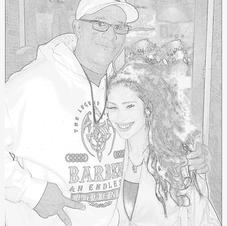 DJ CHIPS AND MS SPIC SKETCH