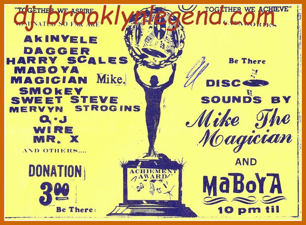Tropical Cove DJ List 1973