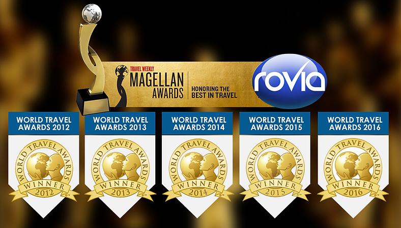 Worldventures Rovia World Travel Award