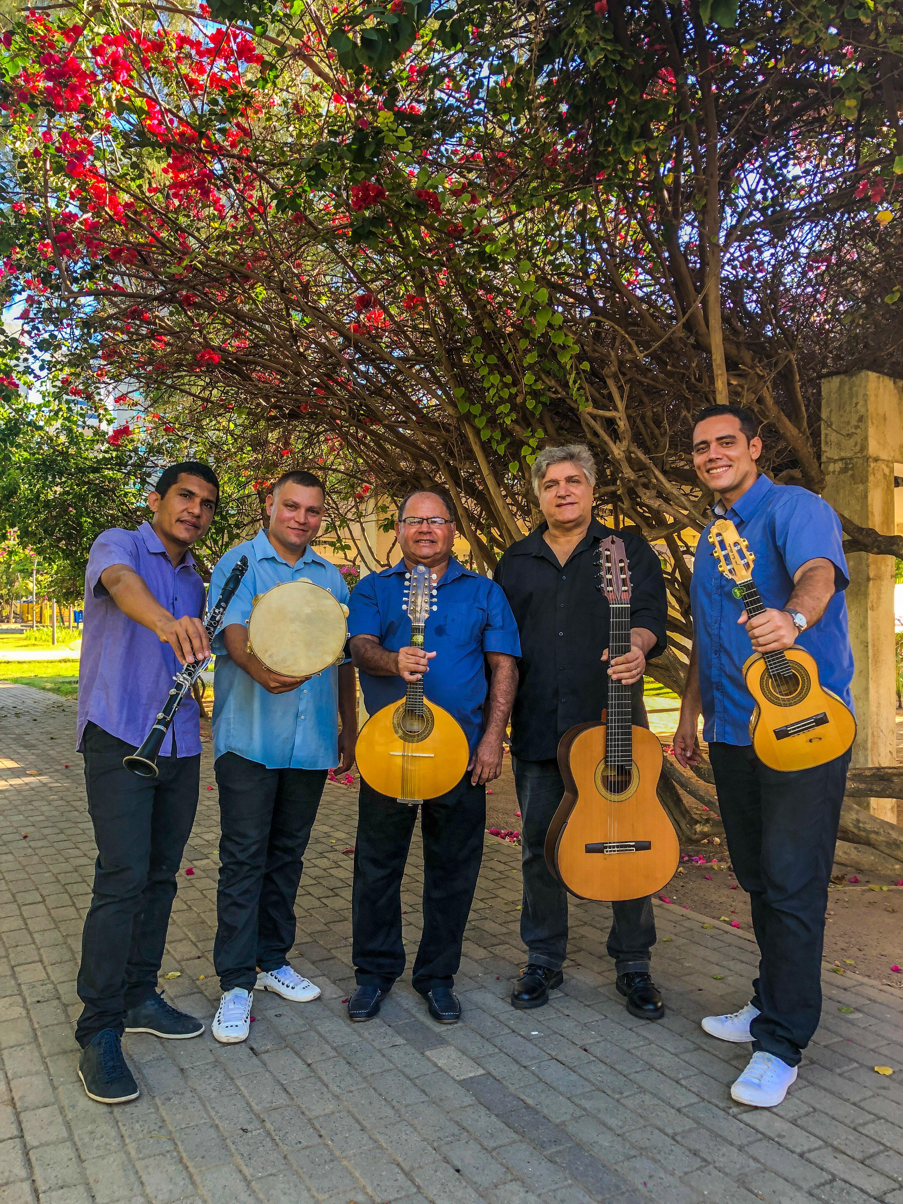 Recife a Paris festival2020 Quintet